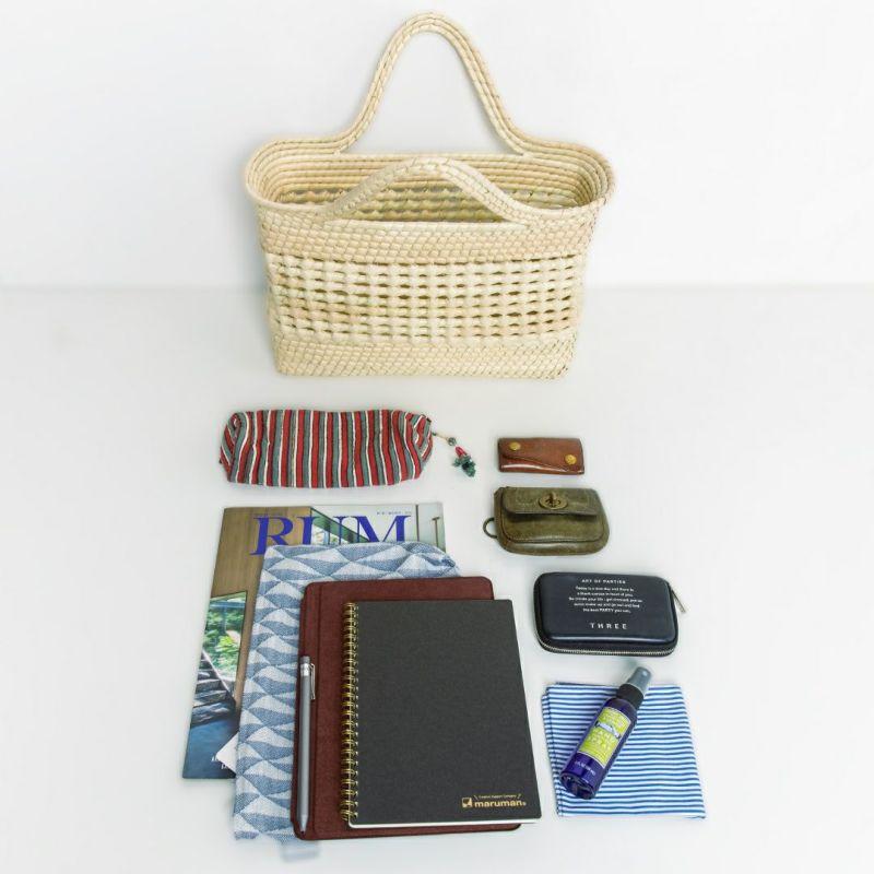 お荷物多めの方も安心の大容量です<br>※写真の商品はPALMA BAG MESH (M)です